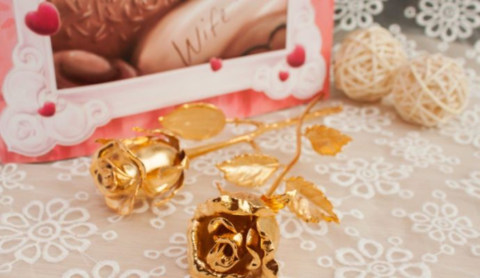 Gold-Plated Roses And Other Interesting Things