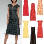 7 Sewing Patterns For Women's Dresses